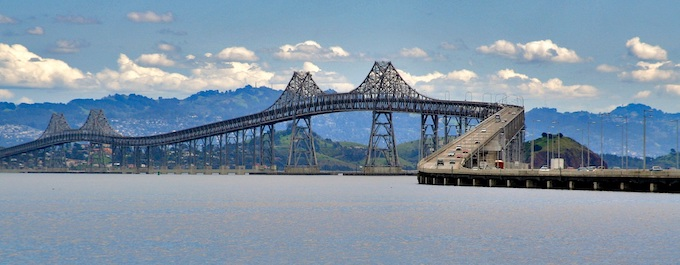 I-580's Richmond-San Rafael Bridge [California Slot Machine Casino Gambling in 2019]