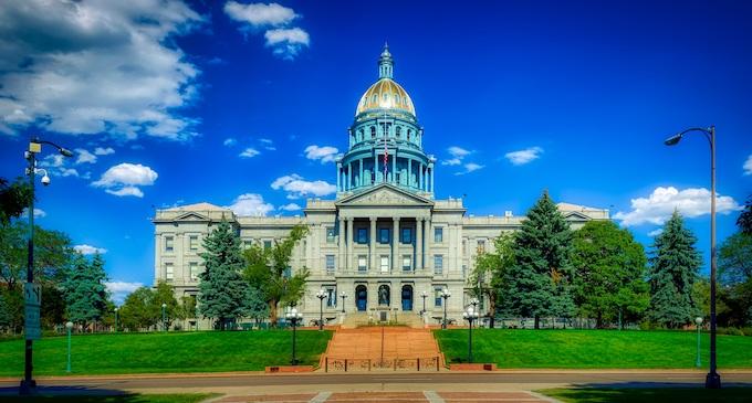 State Capital Building in Denver [Colorado Slot Machine Casino Gambling in 2019]