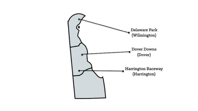 Map of Delaware Casinos [Delaware Slot Machine Casino Gambling in 2019]