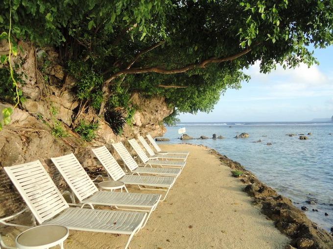 A Guam Resort's Oceanfront View [Guam Slot Machine Casino Gambling in 2019]