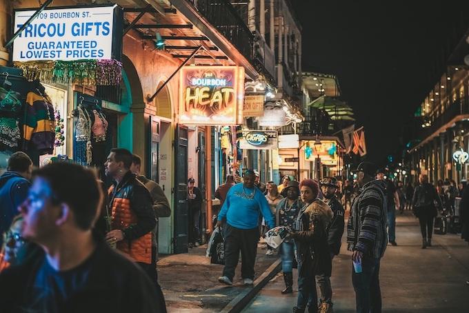 Bourbon Street in New Orleans [Louisiana Slot Machine Casino Gambling in 2020]