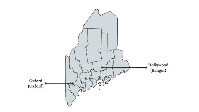 Map of Maine Casinos [Maine Slot Machine Casino Gambling in 2020]
