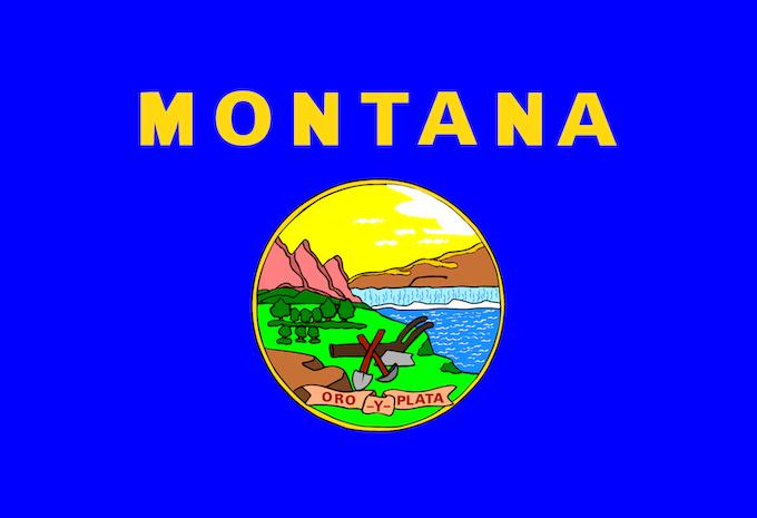 State Flag of Montana [Montana Slot Machine Casino Gambling in 2020]