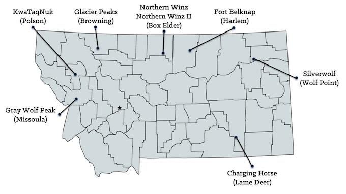 Map of Montana Casinos [Montana Slot Machine Casino Gambling in 2020]