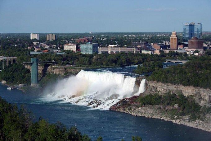 Niagara Falls from the Air [New York Slot Machine Casino Gambling in 2020]