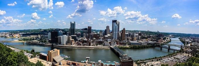 City of Pittsburgh Panoramic [Pennsylvania Slot Machine Casino Gambling in 2020]