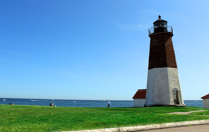 Point Judith Lighthouse [Rhode Island Slot Machine Casino Gambling in 2020]
