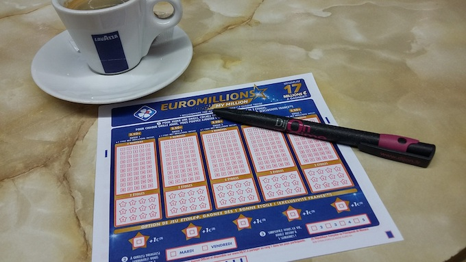 A Draw Lottery Form [International Game Technology 2020]