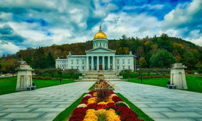 Capital Building in Montpelier [Vermont Slot Machine Casino Gambling in 2020]