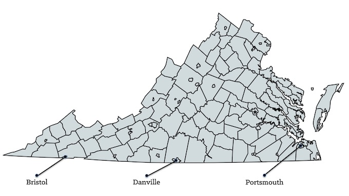 Map of Virginia Casinos [Virginia Slot Machine Casino Gambling in 2020]