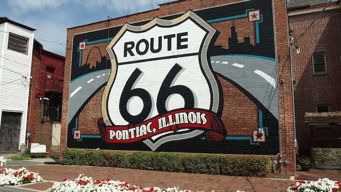 Route 66 in Pontiac, Illinois [Illinois Slot Machine Casino Gambling in 2019]