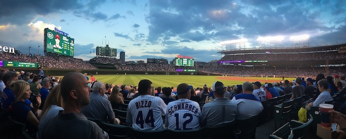 Baseball Game at Wrigley Field [Illinois Slot Machine Casino Gambling in 2019]