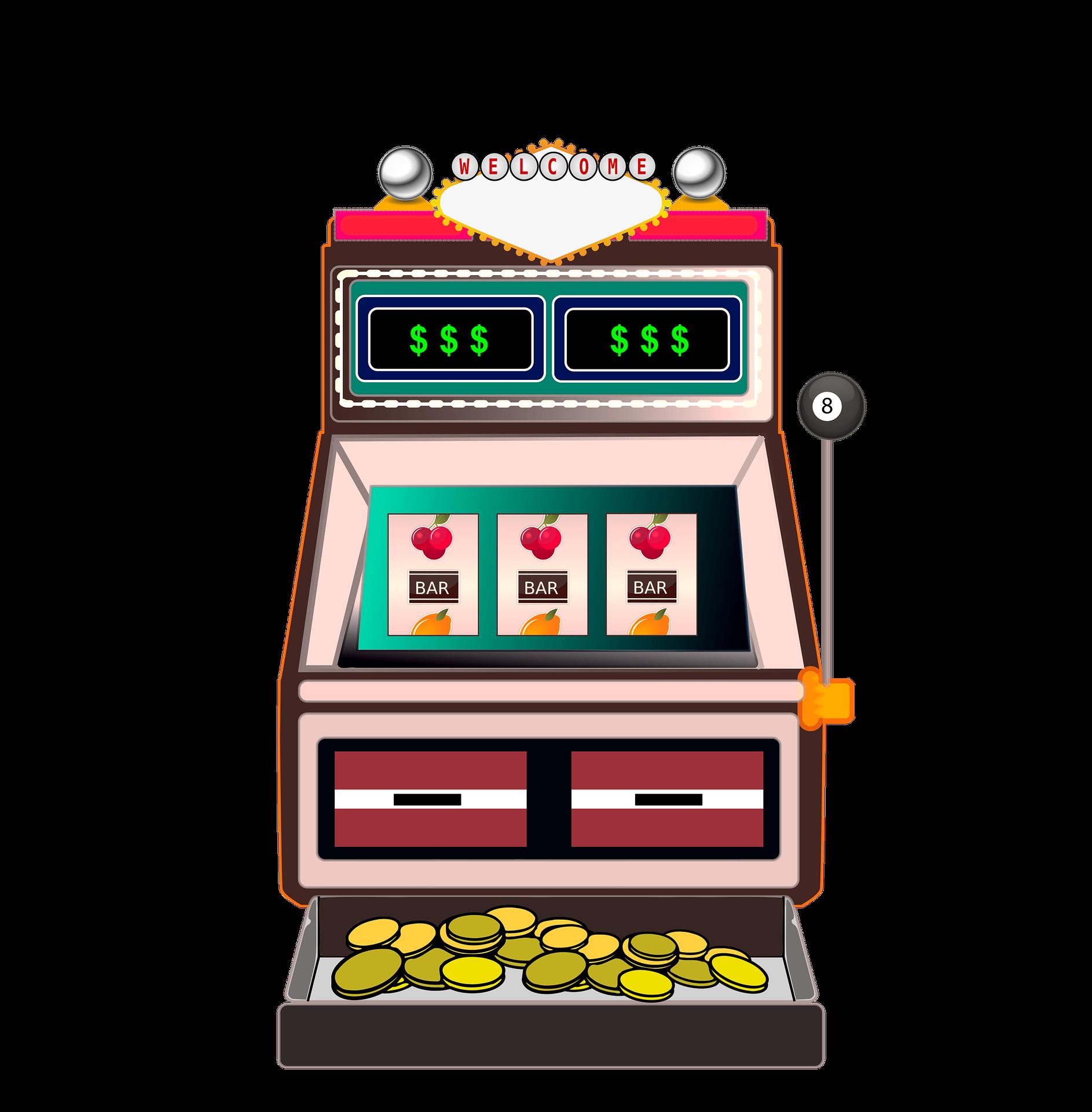 Slot machine symbols png