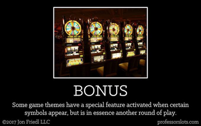 Bonus (Casino Gambling Definitions).
