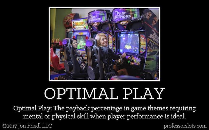 Optimal Play (Casino Gambling Definitions).