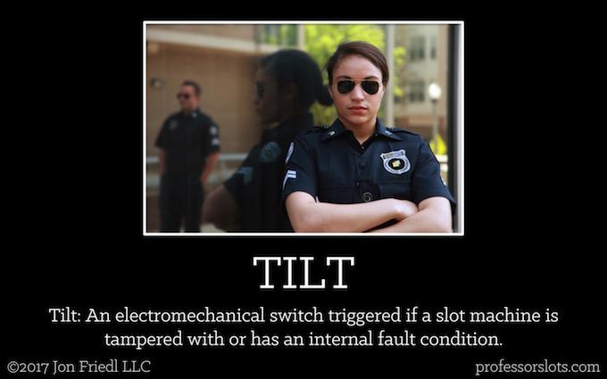 Tilt (Casino Gambling Definitions).