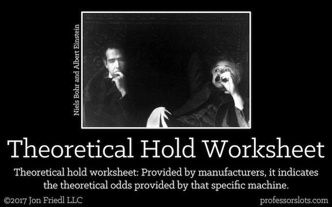 Theoretical Hold Worksheet (Casino Gambling Definitions).