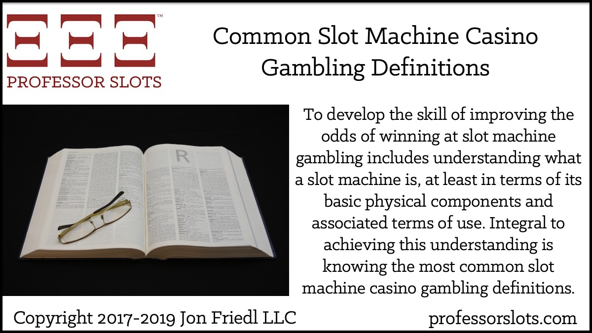 operated gambling definition