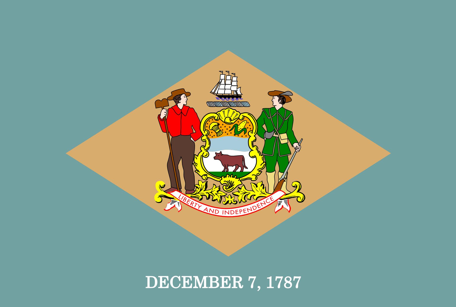 DE's state flag