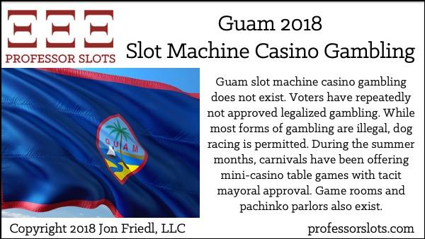 Guam Slot Machine Casino Gambling 2018