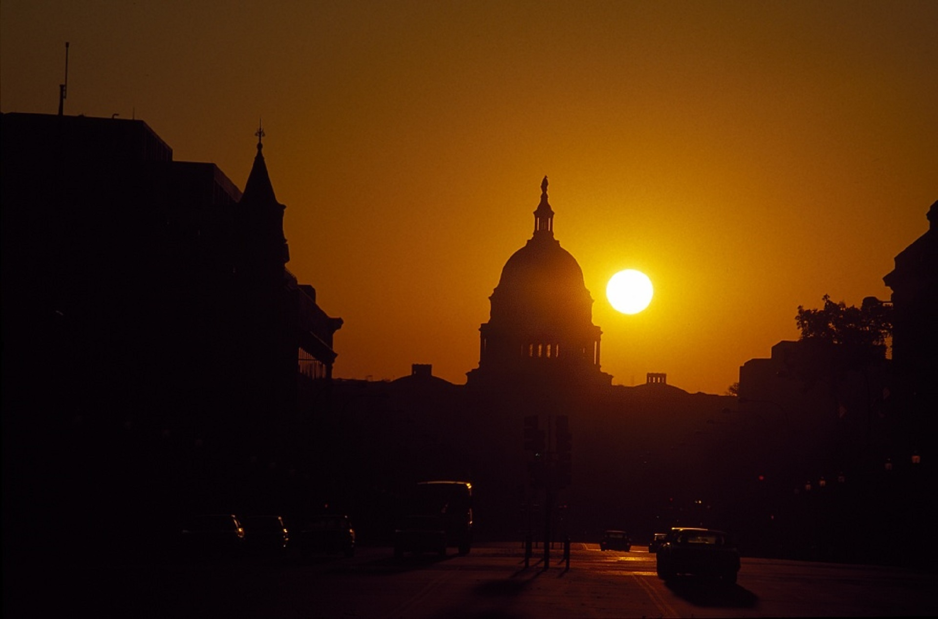Sunrise in Washington, District of Columbia