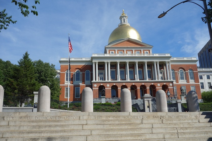 Massachusetts State House [Massachusetts Slot Machine Casino Gambling 2018]