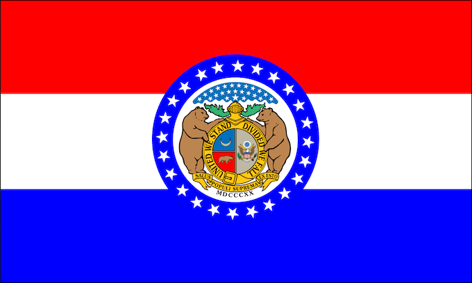 Missouri State Flag [Missouri Slot Machine Casino Gambling 2019]