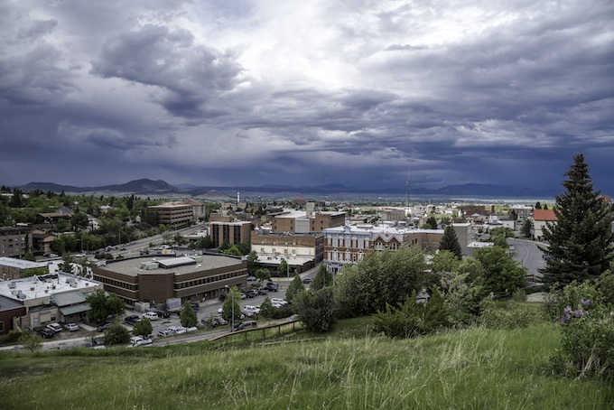 View of Helena, the Capital of Montana [Montana Slot Machine Casino Gambling 2019]