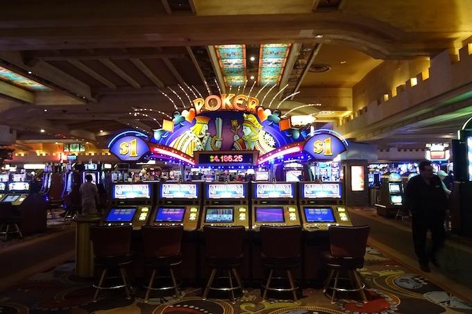 Nevada Slot Machine Casino Gambling: Inside a Nevada casino.