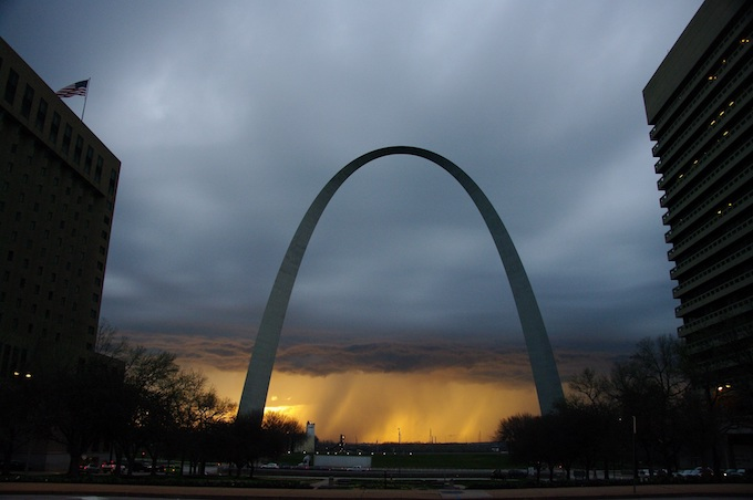 Missouri Slot Machine Casino Gambling: The Gateway Arch in St. Louis, the world's largest free-standing arch.