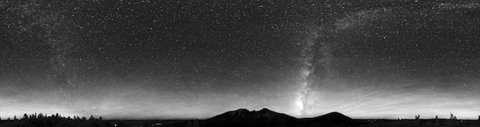Nevada Slot Machine Casino Gambling: The starry Nevada night sky.