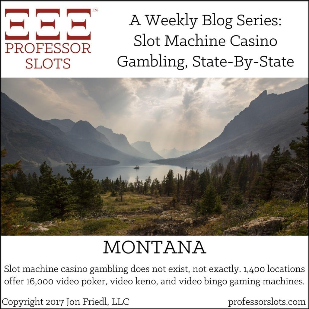 Montana Slot Machine Casino Gambling