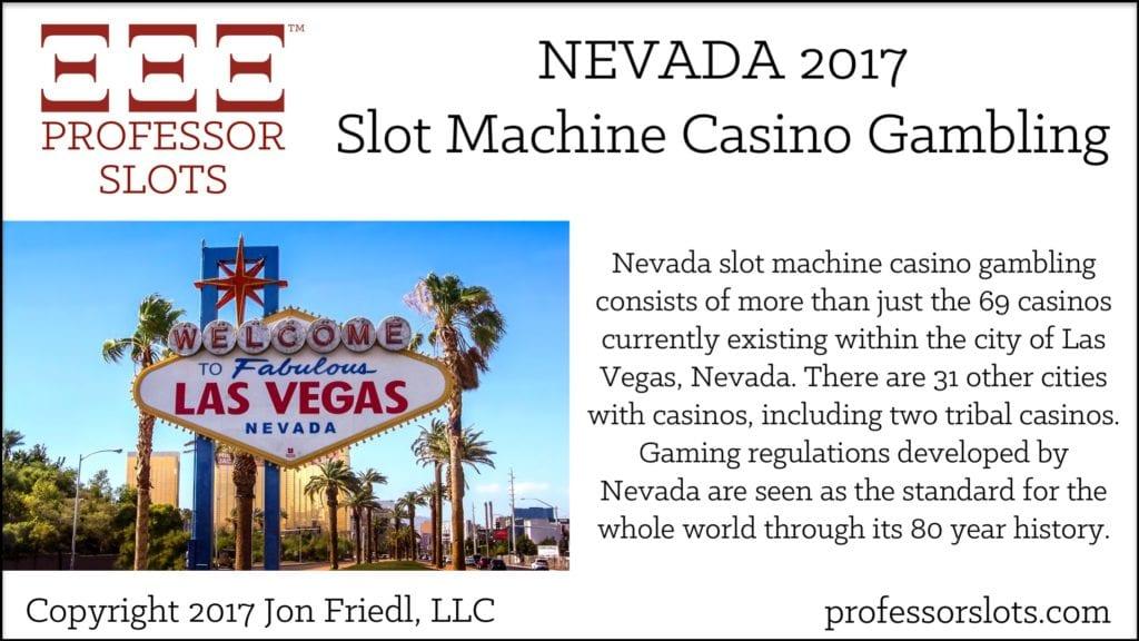 Nevada Slot Machine Casino Gambling 2017
