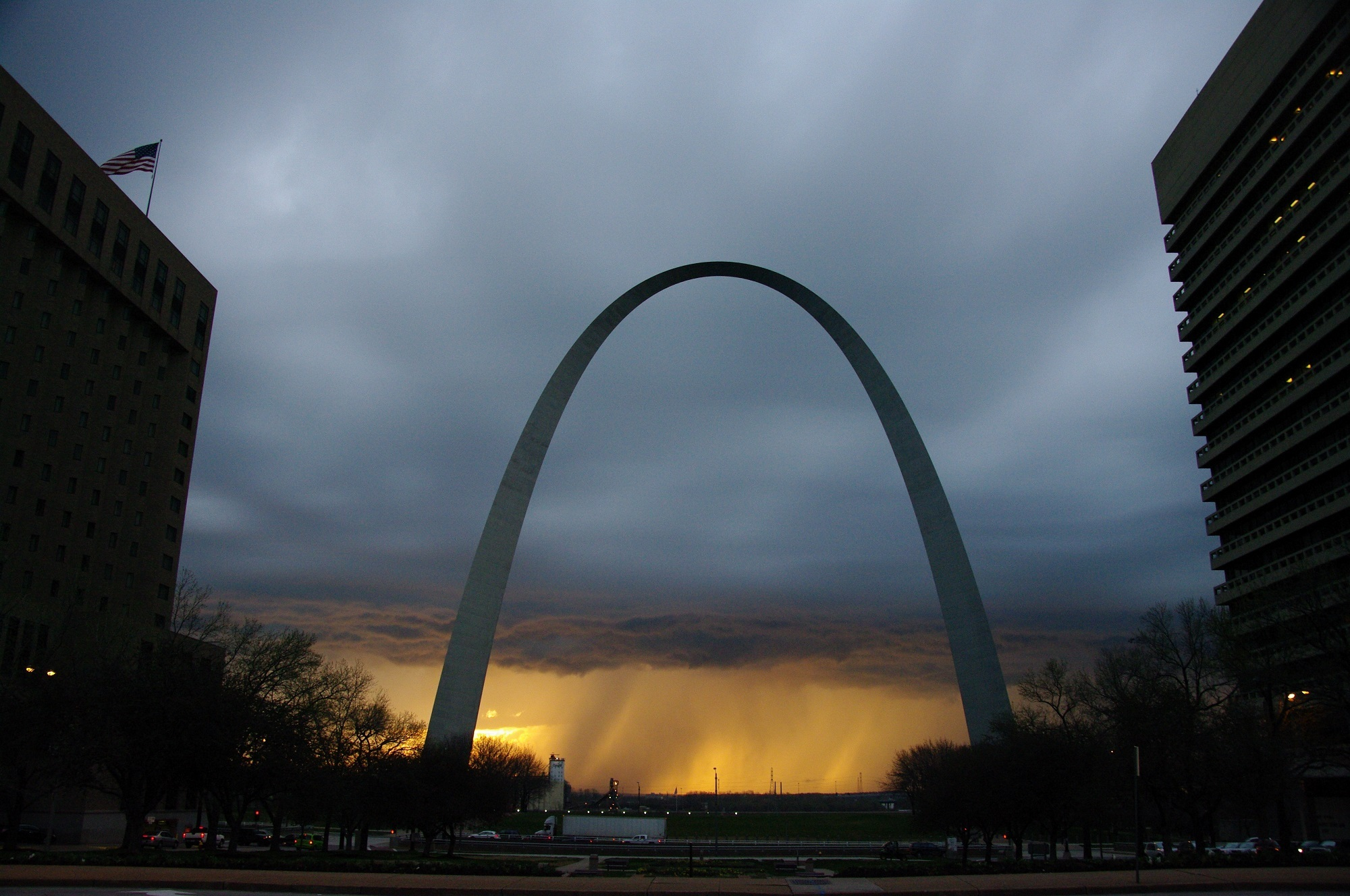 Missouri Slot Machine Casino Gambling: The Gateway Arch in St. Louis, the world's larges arch.