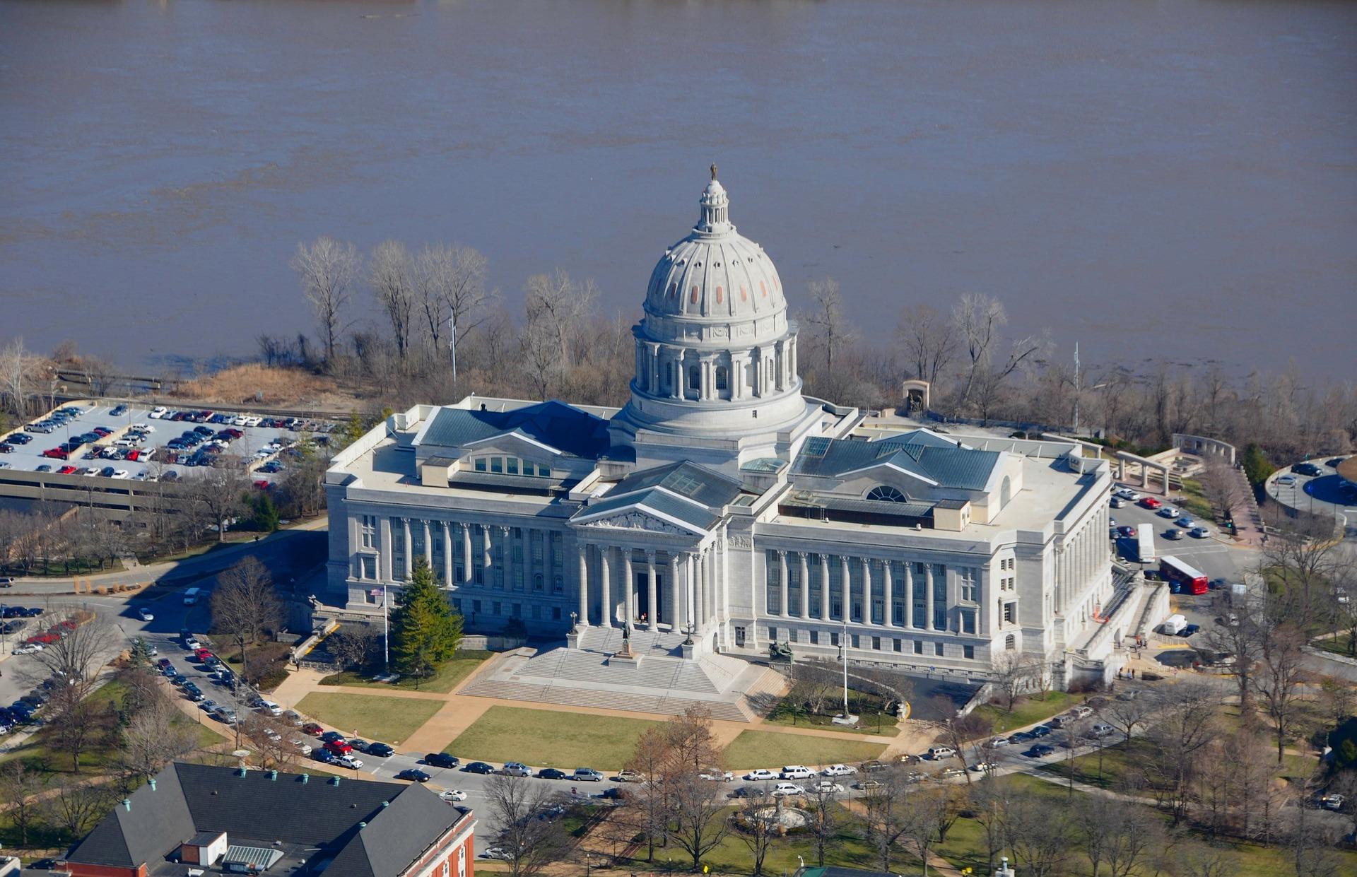 Missouri Slot Machine Casino Gambling: Jefferson City, Missouri State Capital.