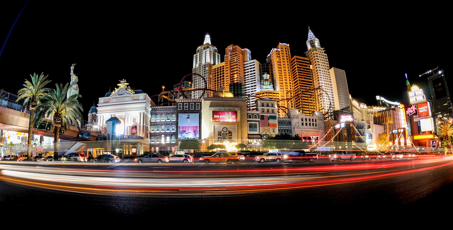 Nevada Slot Machine Casino Gambling and the Las Vegas Strip.