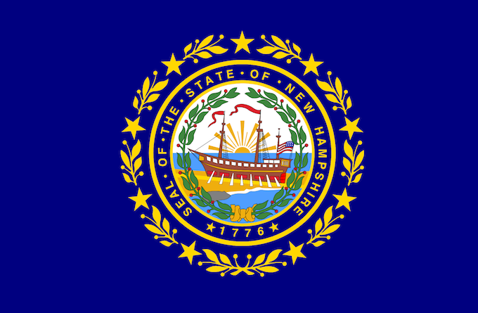 New Hampshire Slot Machine Casino Gambling: The state emblem.