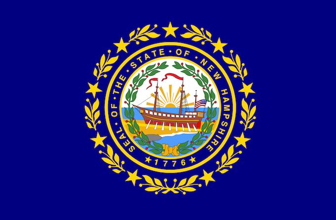 New Hampshire Slot Machine Casino Gambling: The state emblem.