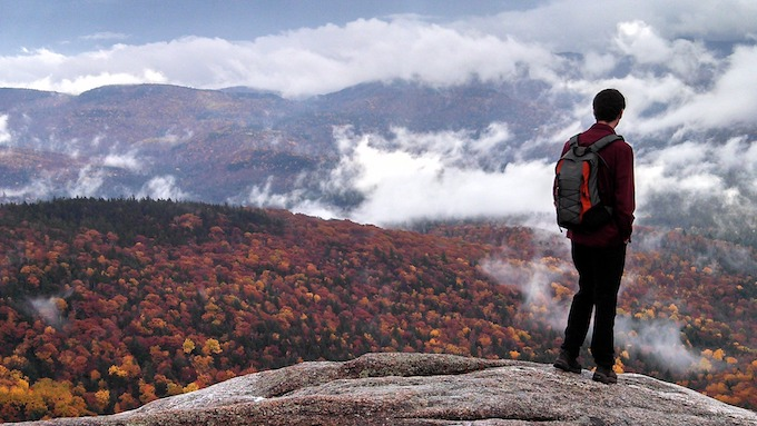 New Hampshire Slot Machine Casino Gambling: Hiking on the Appalachian Trail.