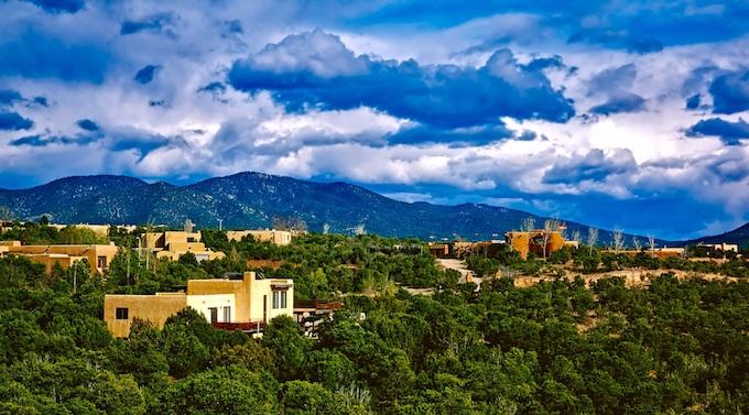New Mexico Slot Machine Casino Gambling: New Mexico's capital of Santa Fe.