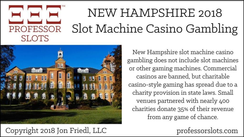 New Hampshire Slot Machine Casino Gambling 2018