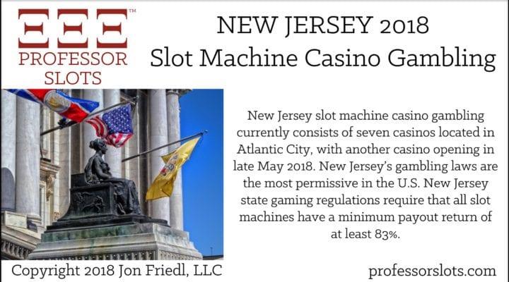 New Jersey Slot Machine Casino Gambling 2018