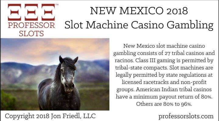 New Mexico Slot Machine Casino Gambling 2018