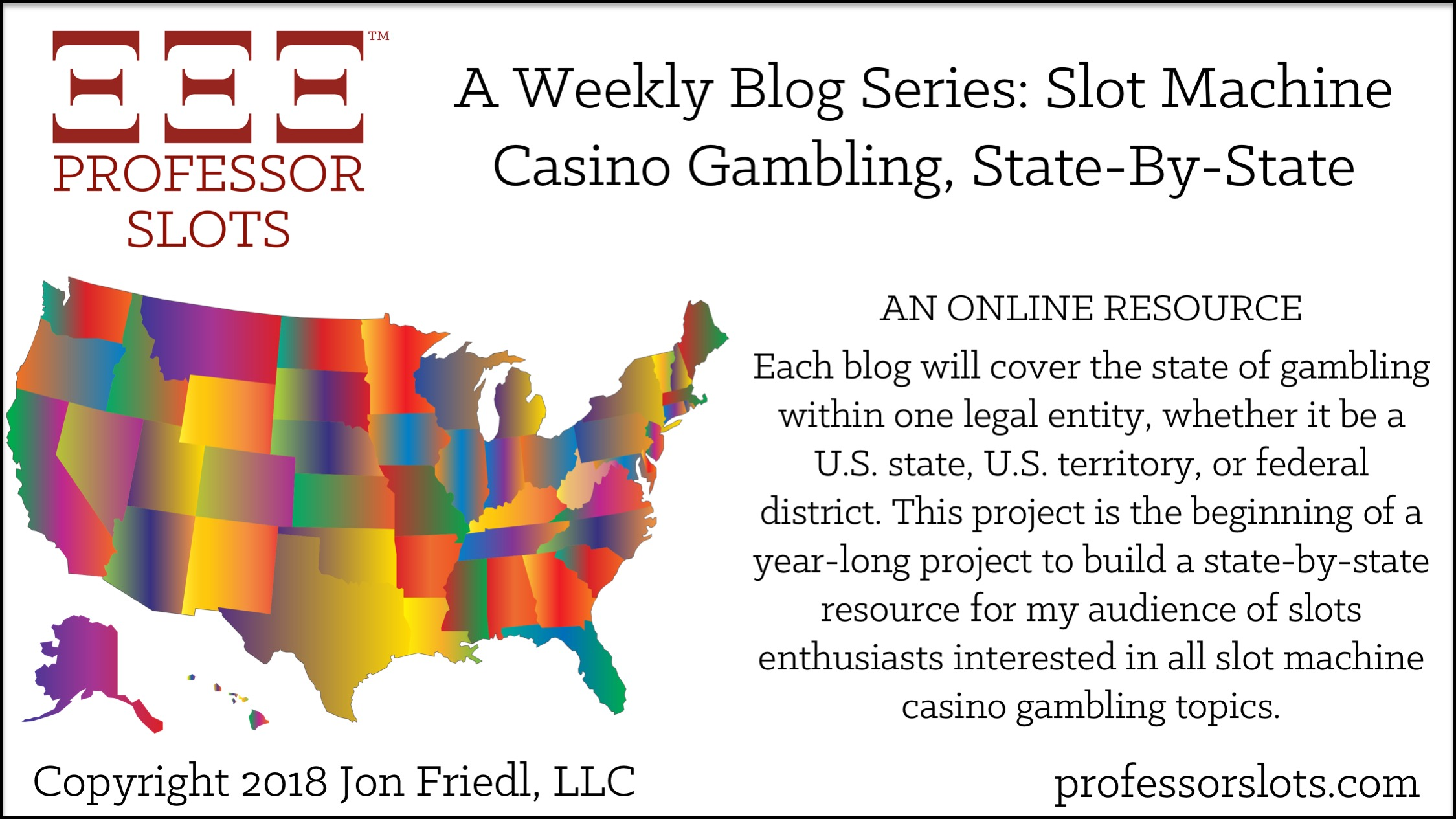 Building an online resource for slots enthusiasts and What to Expect from Professor Slots in 2018.