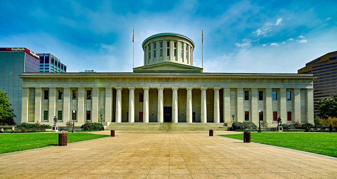 Ohio Slot Machine Casino Gambling 2018: The Ohio Statehouse is the state capital building in Columbus.