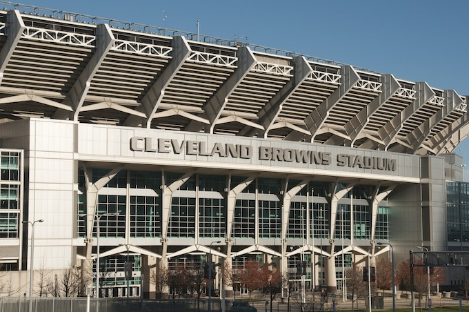 Ohio Slot Machine Casino Gambling 2018: Cleveland Browns Stadium.