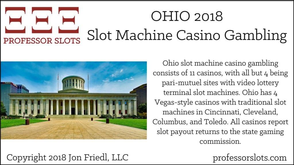 Ohio Slot Machine Casino Gambling 2018