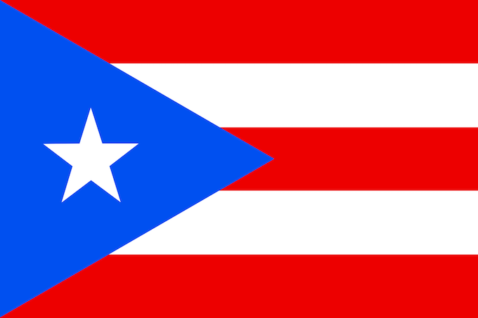 Puerto Rico Slot Machine Casino Gambling 2018: The territorial flag.