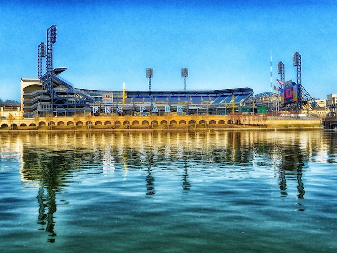 Pennsylvania Slot Machine Casino Gambling 2018: PNC Park, Home of the Pittsburgh Pirates.