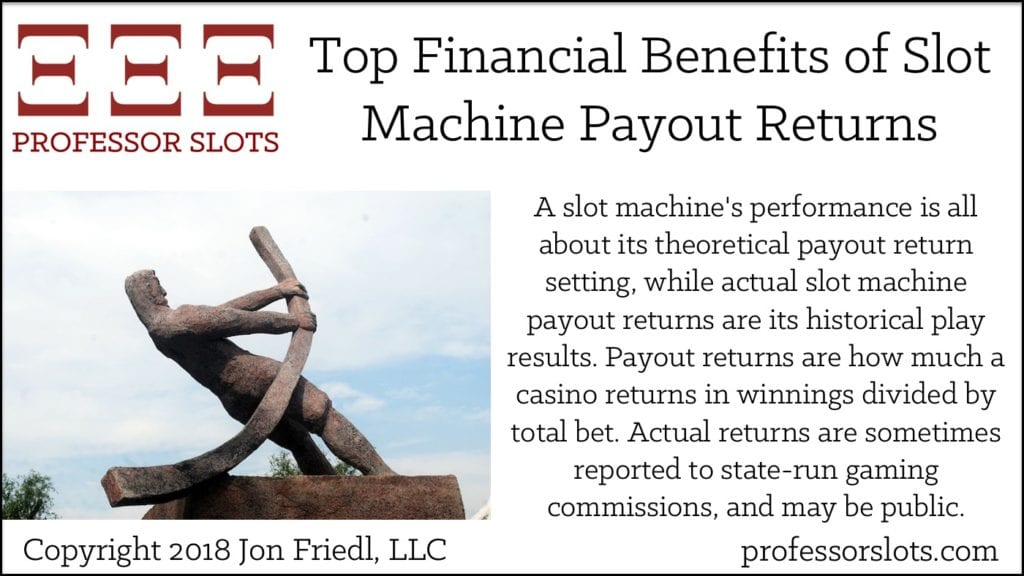 Top Financial Benefits of Slot Machine Payout Returns